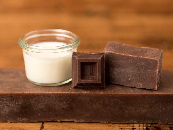 Sapone naturale al latte d'asina e cioccolato