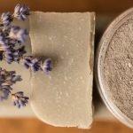 Sapone naturale alla lavanda e argilla verde