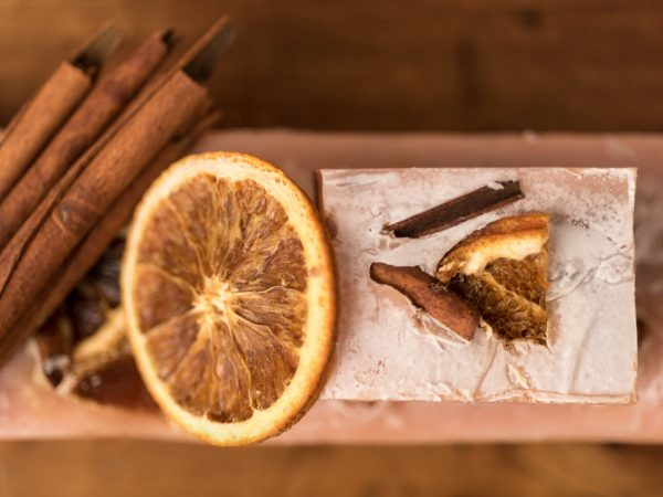 Sapone naturale all'arancia dolce e cannella