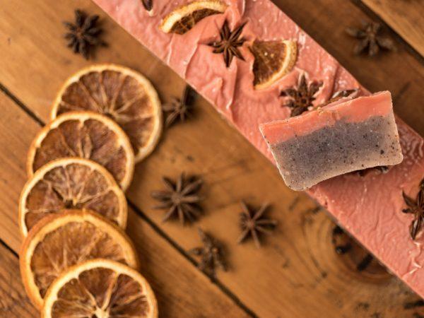 Sapone naturale arancia e anice