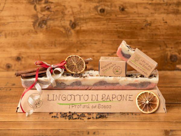 Lingotto di sapone natalizio naturale artigianale Spirits Christmas
