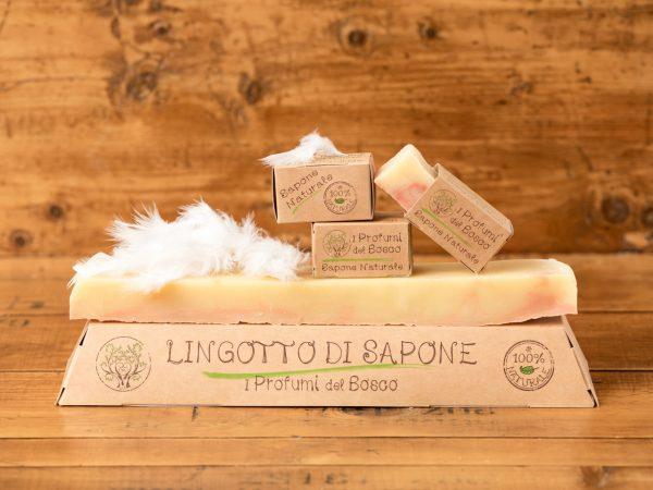 Lingotto di sapone naturale alla Litsea Cubeba