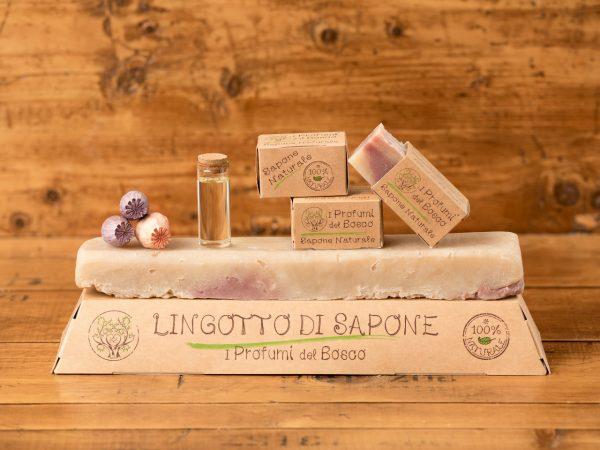 Lingotto di sapone naturale all'olio di Argan e Opium